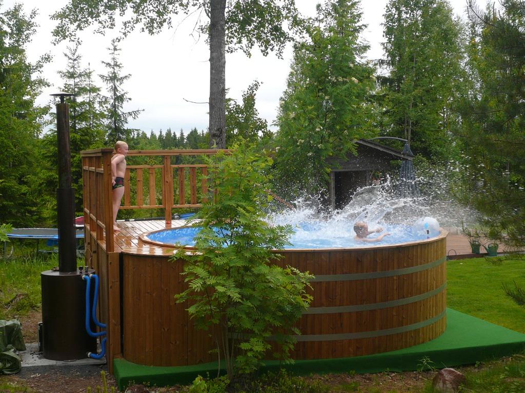Chaudi re bois pour piscine le spa su dois for Chaudiere piscine