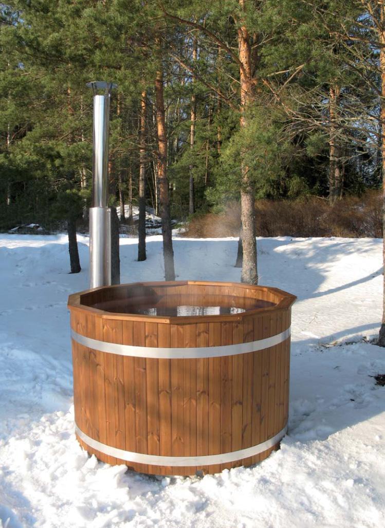Le spa suédois Spas nordique chauffés au bois pour livraison et installation rapide chez vous  # Spa Chilleurs Au Bois