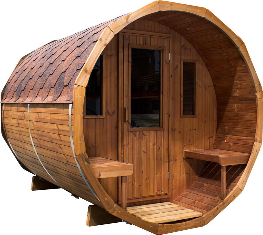sauna tonneau le spa su dois. Black Bedroom Furniture Sets. Home Design Ideas