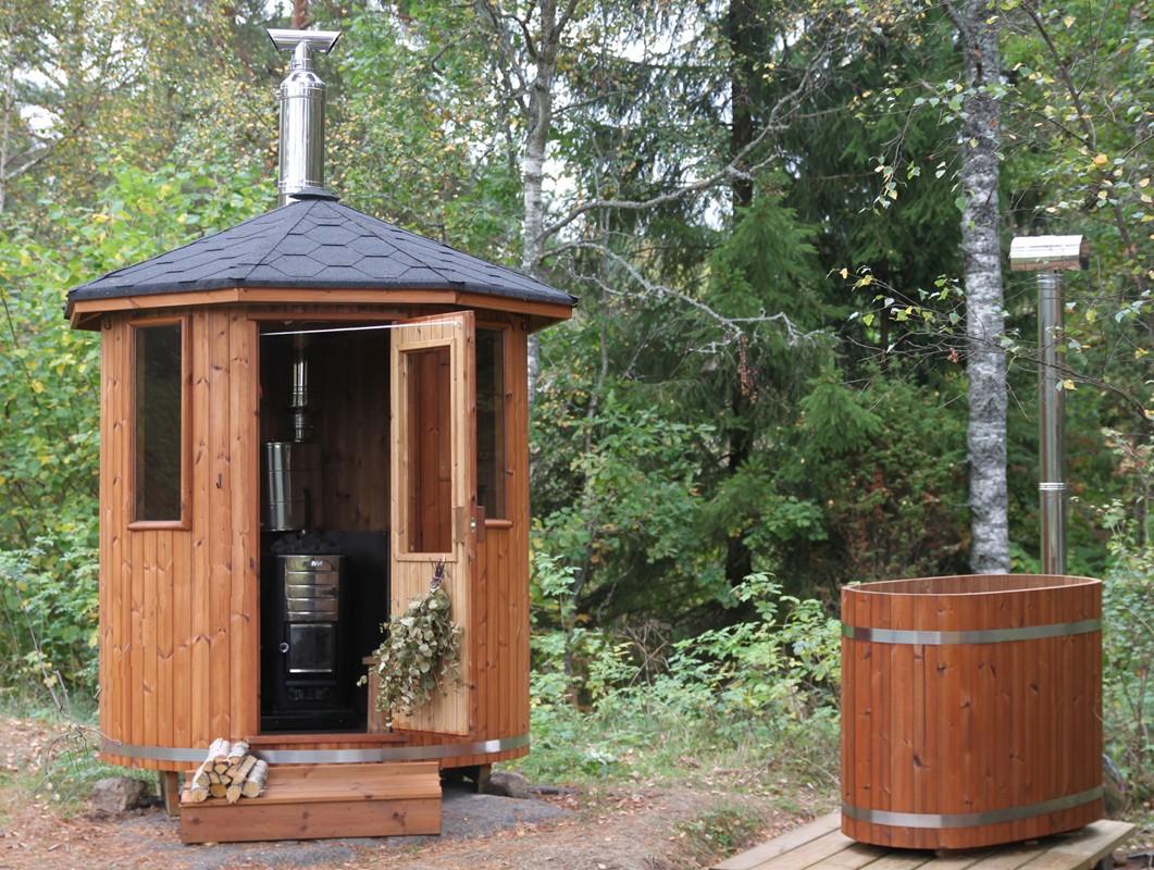 Large 20140728t135140 752ca543 bee6 41d2 b10a b42f3608adb6 for Sauna exterieur avec poele a bois