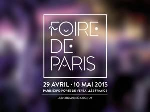 affiche de la foire de paris 2015